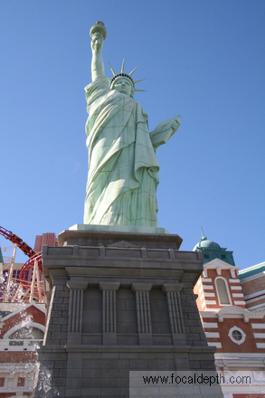 statue of liberty las vegas new york. next middot; USA - Half scale