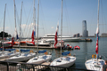 USA - North Cove, Yacht Harbour, World Financial Center, New York