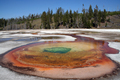 Yellowstone - Chromatic Pool, Upper Geyser Basin near Old Faithful, Yellowstone National Park