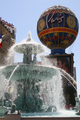 USA - Replica of La Fontaine des Mers and the Montgolfier Balloon outside Paris Las Vegas, Las Vegas